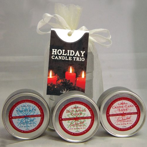 3-In-1 Holiday Candle Trio Gift Set