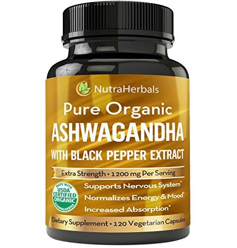 Organic-Ashwagandha-Root-Powder-1200mg-120-Veggie-Capsules-Ashwaganda-Supplement-USDA-Certified-Organic-Black-Pepper-Extract-For-Increased-Absorption