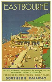 1920 s southern railway eastbourne a3 poster reprint