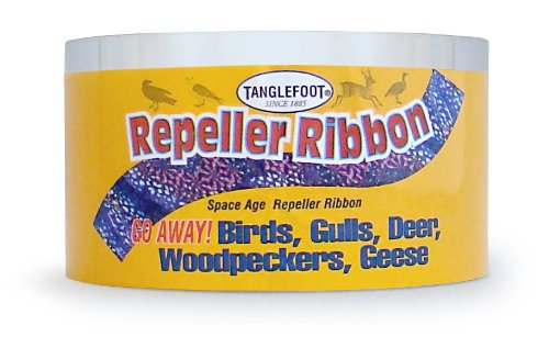 Tanglefoot 300000672 Bird Repeller Ribbon &#8211; 2-Inch x 100-Inch