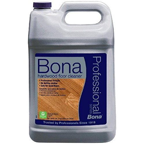 Bona Professional formula Series Hardwood Floor Cleaner Refill for all types of hardwood floors coated , 1-Gallon