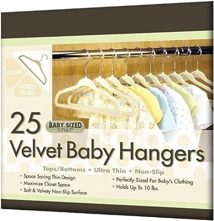 Closet Complete Baby Size Ultra Thin No Slip Velvet