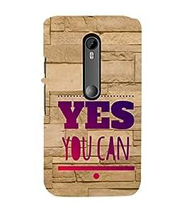 EPICCASE motivational quotes Mobile Back Case Cover For Moto X Force (Designer Case)