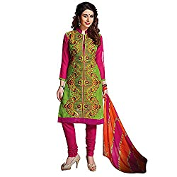 Stylo Fashion Women Cotton Dress Material (Nr07 _Multi-Coloured _Free Size)