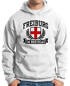 T-Shirtshock - Sweatshirt Hoodie TSTEM0037 freiburg im breisgau