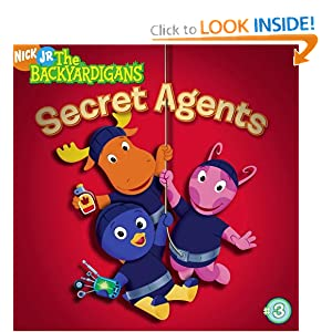 Secret Agents (Backyardigans (8x8)) Wendy Wax and Zina Saunders