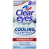 Clear Eyes Cooling Comfort- Redness Relief, 0.5 Ounce