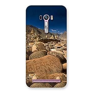 Ajay Enterprises Ft Roads Stone Prints Back Case Cover for Zenfone Selfie