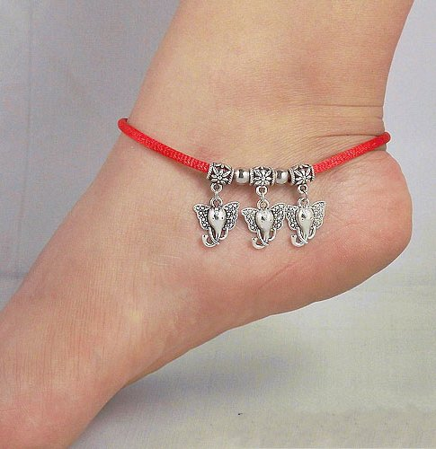 Tibetan Silver Sterling Silver Bangle Anklet Chain Bracelet Jewellery Quality Style NO.3020