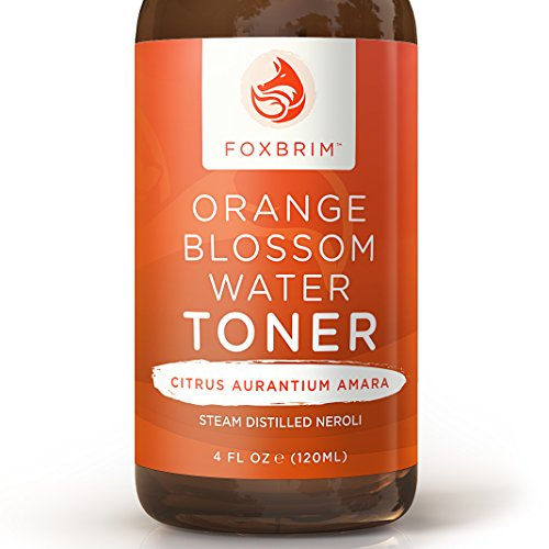 Orange Blossom Water Toner - 100% All-Natural