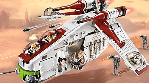 Lego Star Wars Custom Clone Gunship Ops Gunship Lego Star War