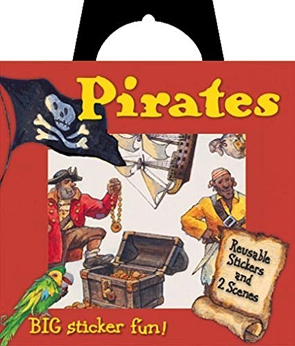 Peaceable Kingdom Pirates Reusable Sticker Tote