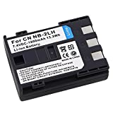 eForCity® Replacement for Compatible Rechargeable Li-Ion Battery for Canon NB-2LH Canon PowerShot Optura R Series... by eForCity