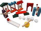 Amazon.co.jpMille Ti Rana 子供から大人までドキドキ ドミノ 倒し 仕掛け ギミック 10個 セット 知育 玩具