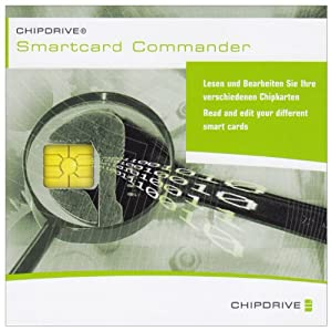 SCM Chipdrive Smart Card Commander V1.0.1 Professional  Editition Software CD