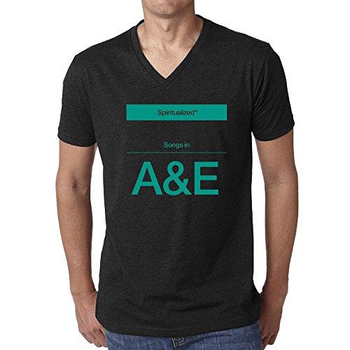 spiritualized-songs-in-ae-t-shirt-for-men-v-neck-black