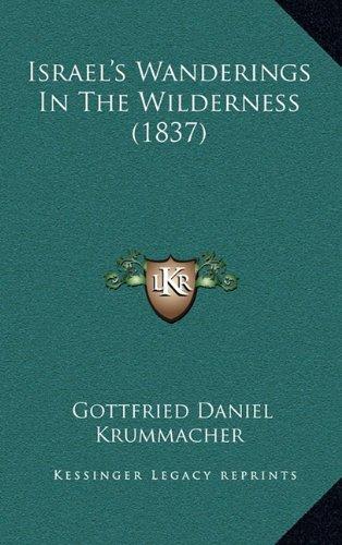 Israel's Wanderings in the Wilderness (1837)