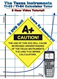 Texas Instruments Ti-83 & Ti-84 Calculator Tutor [DVD] [Region 1] [US Import] [NTSC]