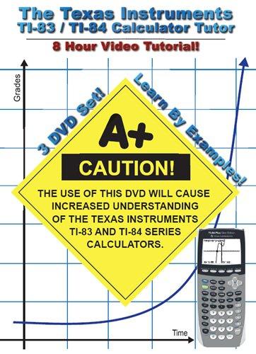 The Texas Instruments TI-83/TI-84 Calculator Tutor