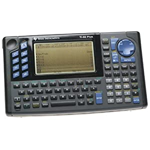 Amazon.com: Texas Instruments TI-92 Plus Graphing Calculator ...