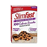 SlimFast Advanced Nutrition 100 Calorie Snack Bites, Peanut Butter Chocolate, 5 Count