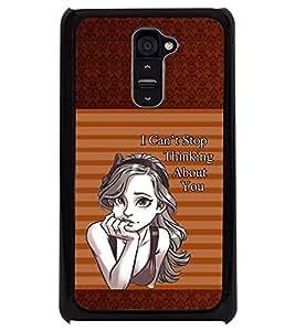 PRINTSWAG QUOTE GIRL Designer Back Cover Case for LG G2