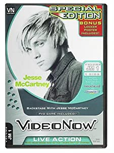 Videonow Personal Video Disc: Backstage with Jesse McCartney (Bonus Poster)