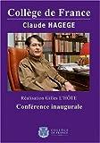 echange, troc Hagege claude conference inaugurale (1988)