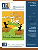 img - for The Retirement Management Journal: Vol. 4, No. 1, Special Double Issue (Volume 4) book / textbook / text book