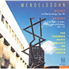 Mendelssohn, Felix: Sextet for Piano and Strings in D Major / String Octet in E-Flat Major (Lincoln Center Chamber Music Society)