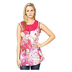 Kaxiaa Cotton Multi Top For Women (Size-X-Large)