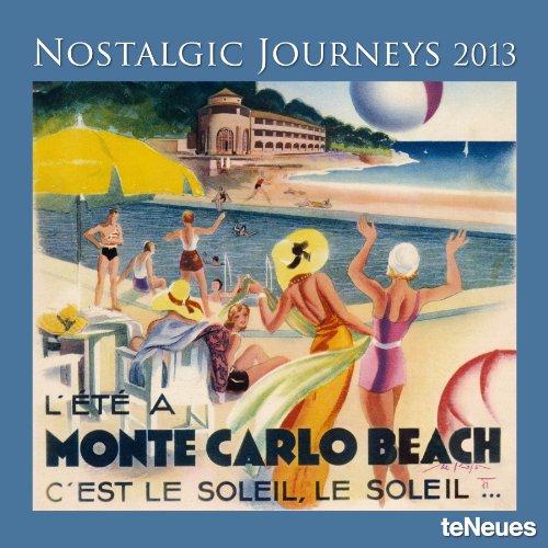 2013 Nostalgic Journeys Wall Calendar