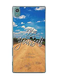 YuBingo Be Yourself Designer Mobile Case Back Cover for Sony Xperia Z5