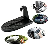 Vehicle Hooked on-on U Shaped Slam Latch Doorstep with Saftey Hammer Function for Easy Access to Car Rooftop Roof-rack,Doorstep for Car, Jeep, SUV