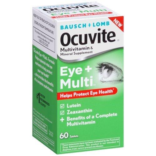 Bausch + Lomb Ocuvite Eye + Multivitamin & Mineral Supplemen