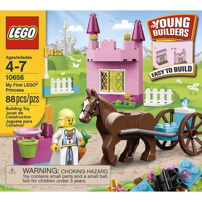 Toy / Game Lego Bricks & More My First Princess 10656 With Building Instructions And Inspirational Ideas front-1071686
