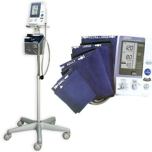 Omron Hem-907Xl Pro Blood Pressure Monitor With Stand front-546575
