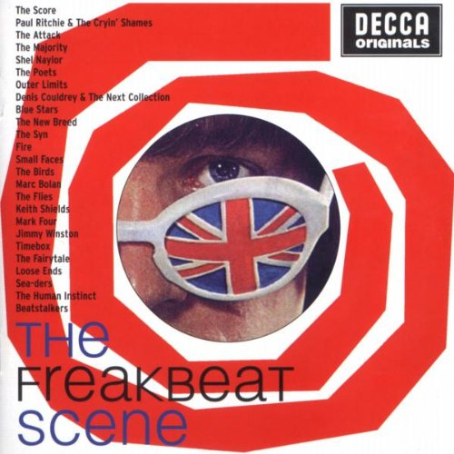 DECCA ORIGINALS. THE FREAK BEAT SCENE