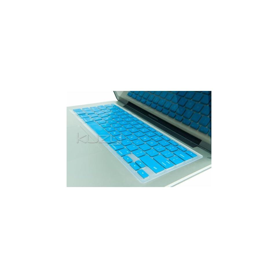 Kuzy   TURQUOISE Keyboard Silicone Cover Skin for Macbook / Macbook Pro 13 15 17 Aluminum Unibody