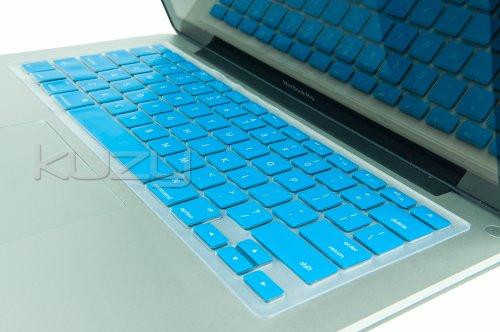 #>>  Kuzy - AQUA BLUE Keyboard Cover Silicone Skin for MacBook Pro 13