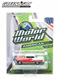 1955 Chevrolet Bel Air (Red & White) * 2014 Motor World * Series 10 American Edition 1:64 Scale Die-Cast Vehicle