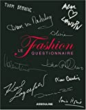 echange, troc Michael Specter - Fashion Questionnaire