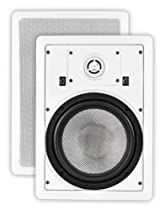OSD Audio MK-W850 8-inch Kevlar Home Theatre In-Wall Speaker with Bass and Treble Swtich, Pair