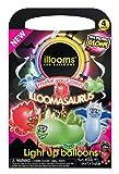 Illooms LED Light up Balloons - Make Your Own Dinosaur 4 Pack