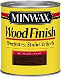 Minwax 22250 1/2 Pint Wood Finish Interior Wood Stain, Red Mahogany