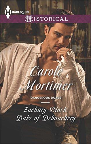Carole Mortimer - Zachary Black: Duke of Debauchery
