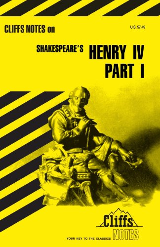 King Henry IV, Part 1 (Cliffs Notes) (King Henry Iv Part 1 compare prices)