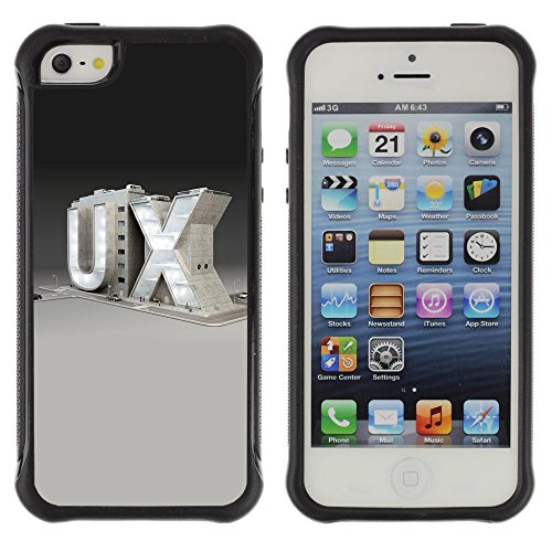 Zfresh Rugged Protective Case Cover - Ux - Apple Iphone 5 / 5S