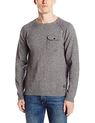 GANT Men's Alpaca Crew-Neck Pullover Sweater with Chest Pocket gant men s alpaca crew neck pullover sweater with chest pocket
