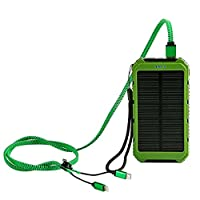 Solar Charger Eco-daily 10000mah Dual US...